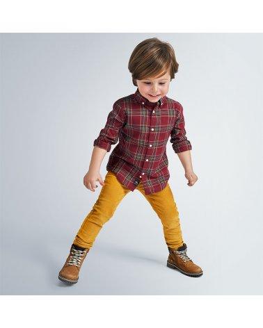 Pantalon pana slim fit basico Mayoral
