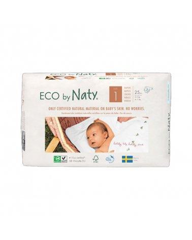 Pañales Naty Talla 1 Recién Nacido (2-5 Kg)
