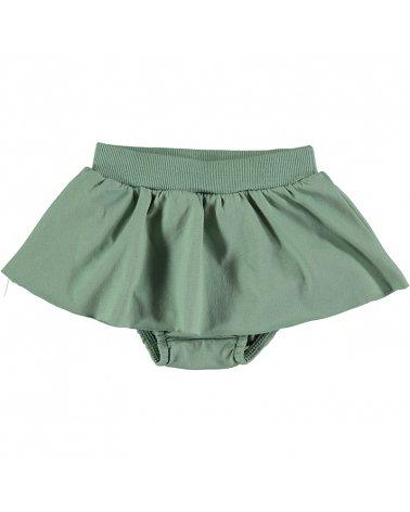 Culotte C/Falda Verde Baby Clic