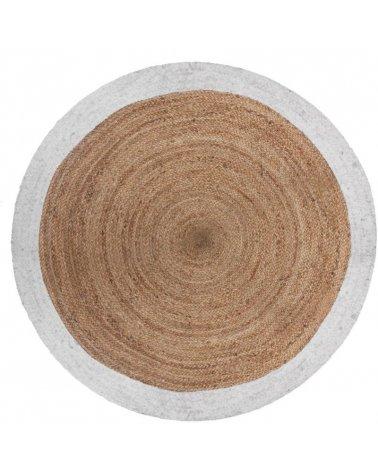 Alfombra redonda Yute de 120cm de Atmosphera