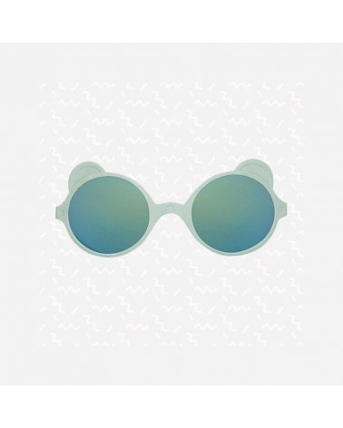 Gafas de Sol para Niños Inkassabl' Ositos Almond Green de Ki ET LA