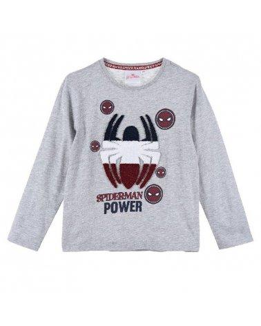 Camiseta M/L Spiderman Sun City Gris