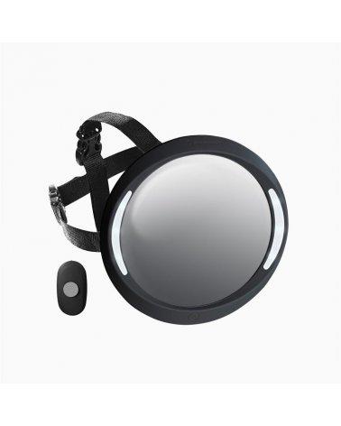 Espejo ACM con luz y mando Apramo Negro