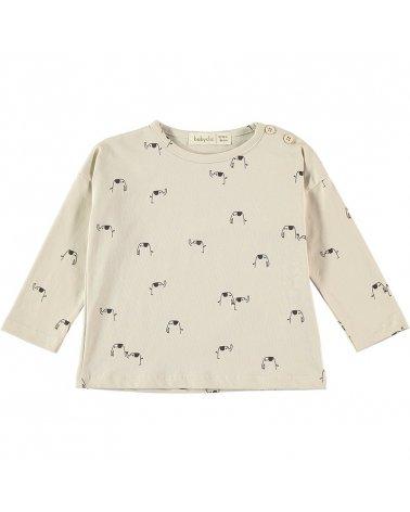 Camiseta M/L Elephants Baby Clic